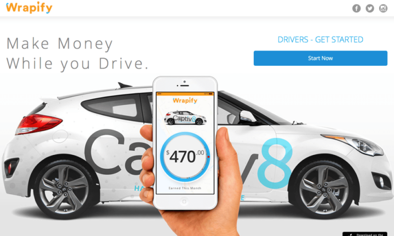 Wrapify is the easiest way to make around $100 on the road