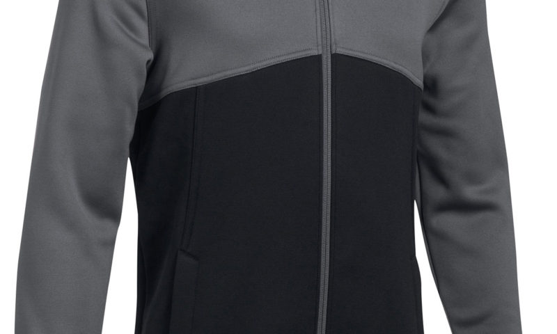 Under Armour Colorblocked Full-Zip Hoodie $30