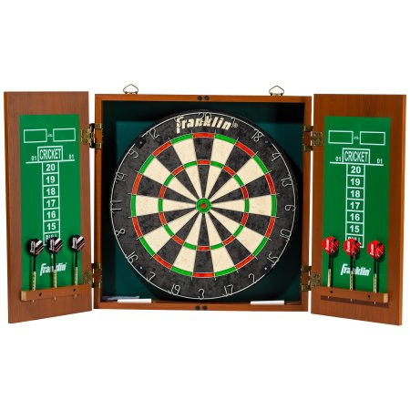 Sports Bristle Dartboard with Cabinet $26