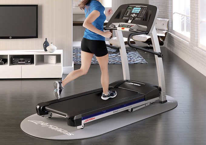 Life Fitness F1 Smart Folding Treadmill – Assembly Included $1500 was $2000