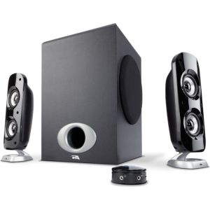 Cyber Acoustics 76W Peak Power Speaker System with Control Pod $53