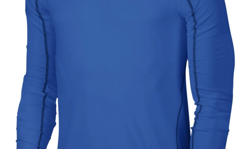 Nike Men's Pro Cool Dri-FIT Fitted Long-Sleeve Shirt $15 was $30