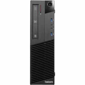 Lenovo M83 SFF Business Desktop with Intel G3220 Processor, 4GB DDR3 Memory, 500GB SATA Hard Drive and Windows 10 Home – Refurbished $149