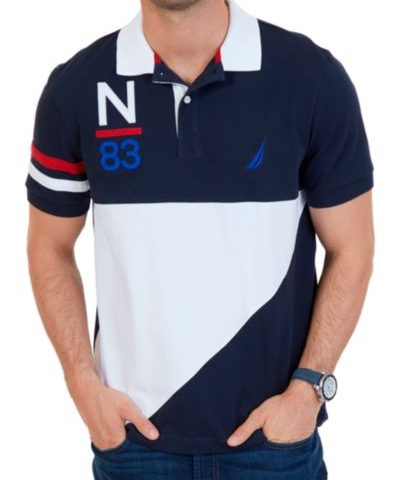 Nautica Short Sleeve Heritage Polo $34 was $80