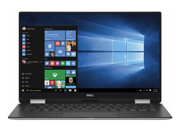 Dell – XPS 2-in-1 13.3″ Touch-Screen Laptop – Intel Core i7 – 16GB Memory – 256GB Solid State Drive – Silver $1000 was $1400