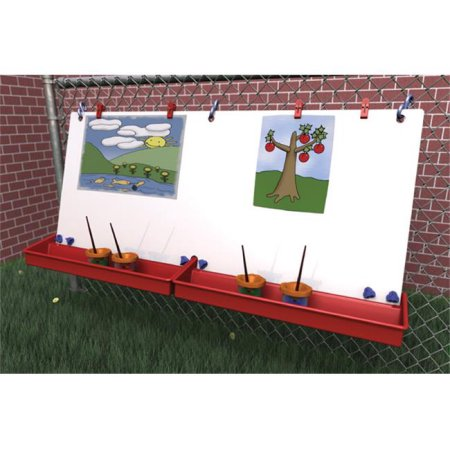 Manta Ray S3102 46″W x 22-1/2″H Double Fence Easel $84 was $300