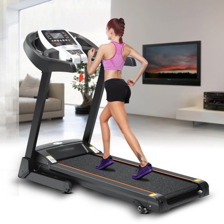 Hascon Bluetooth Wifi+12 Running Program 2.25hp Electric Folding Treadmill With Incline App control/Heart Rate Sensor $300 was $1200