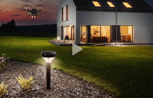 Secure your home with flying camera