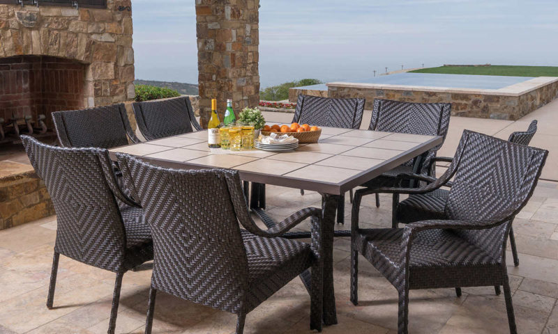 Canyon Park 9-piece Dining Set by Mission Hills $1300