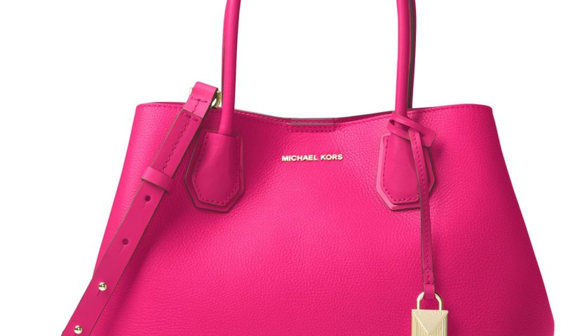 all michael kors pink bags are more than half off