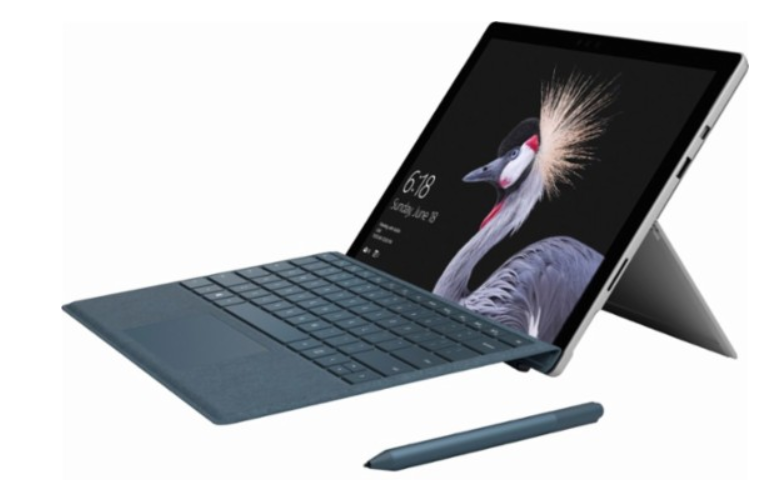 "Microsoft – Surface Pro – 12.3"" – Intel Core i5 – 4GB Memory – 128GB Solid State Drive (Latest Model) – Silver $300 off"