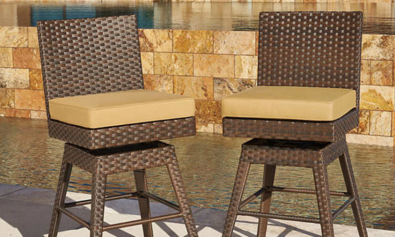 Madrid Bar Chairs by Mission Hills 2-pack $299
