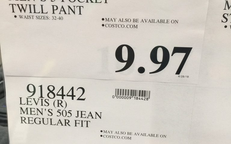 Mens Jeans pant for $10