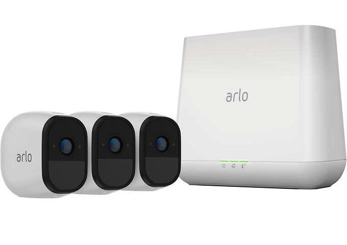 Arlo Pro Smart Home HD Wireless IP Security Camera 3-pack $100 off