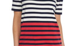 Alfred Dunner Classics Stripe Short Sleeve Sweater for $14 from $50