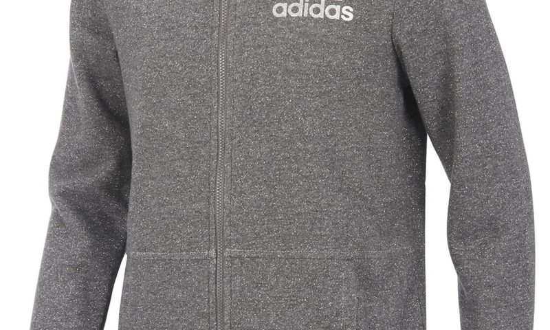 adidas Sparkle Zip Hoodie, Toddler Girls $13 was $45