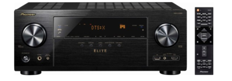 Pioneer – Elite 7.2-Ch. Hi-Res 4K Ultra HD HDR Compatible A/V Home Theater Receiver – Black