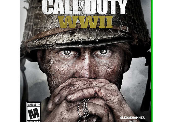 Call of Duty WWII Standard Edition Xbox One Video Game $27 was $50
