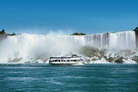 Maid of the mist boat in Niagara Fall – NY USA