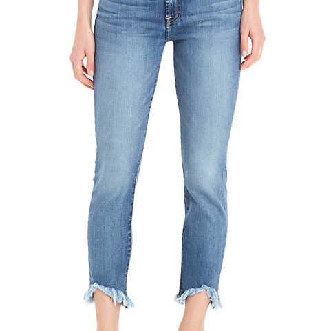 7 For All Mankind® Roxanne Wave Hem Denim Pants for $119 from $200