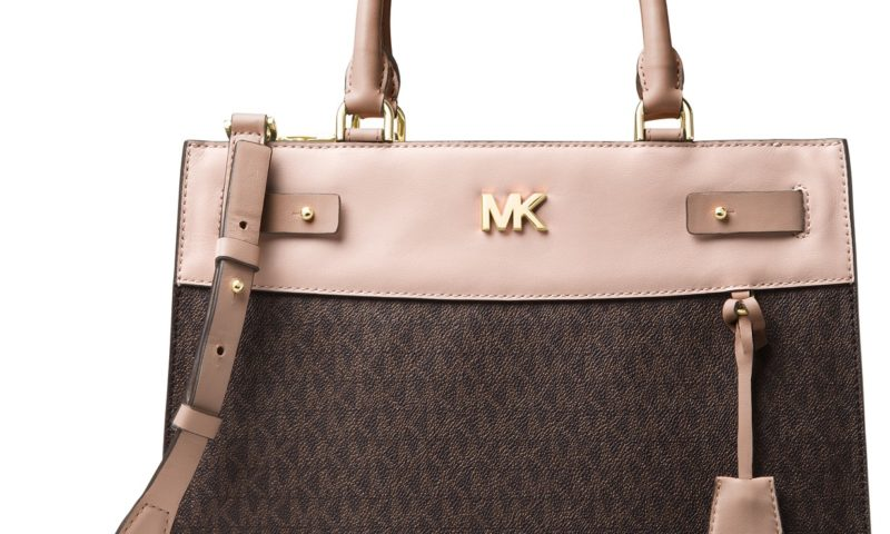 Michael Kors Signature Reagan Large Satchel 60% Off