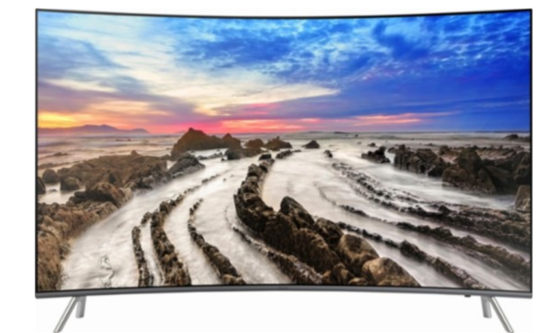 Samsung – 55″ Class – LED – Curved – MU8500 Series – 2160p – Smart – 4K UHD TV with HDR $852