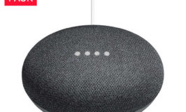 Google Home Mini Smart Speaker Powered by Google Assistant, Charcoal, 3-pack $75
