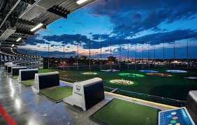 One of kind of playing Golf , TopGolf – Atlanta , USA