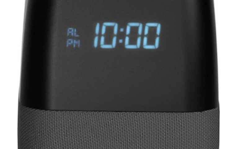 Voice Smart Bluetooth Speaker and Alarm Clock with Google Assistant $40