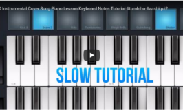 SLOW TUTORIAL – this is the slow version to play along and learn to play