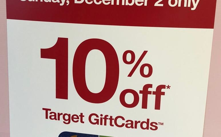 Target's one-day gift card sale is happening this Sunday