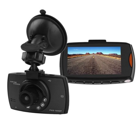 Full HD Dash Cam Crash DVR Digital Video Recorder Night Vision Camcorder Car Equipment  $14 was $62