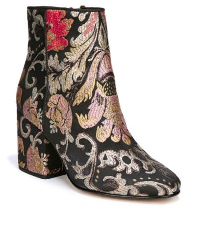 Taye Heeled Ankle Brocade Bootie  $69 was $160