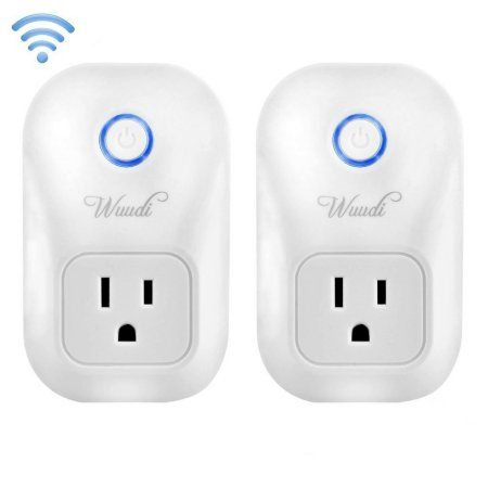 Smart Plug Wireless Outlet No Hub Required Smart Timing Socket, Wireless Remote Control(2 pcak) $35