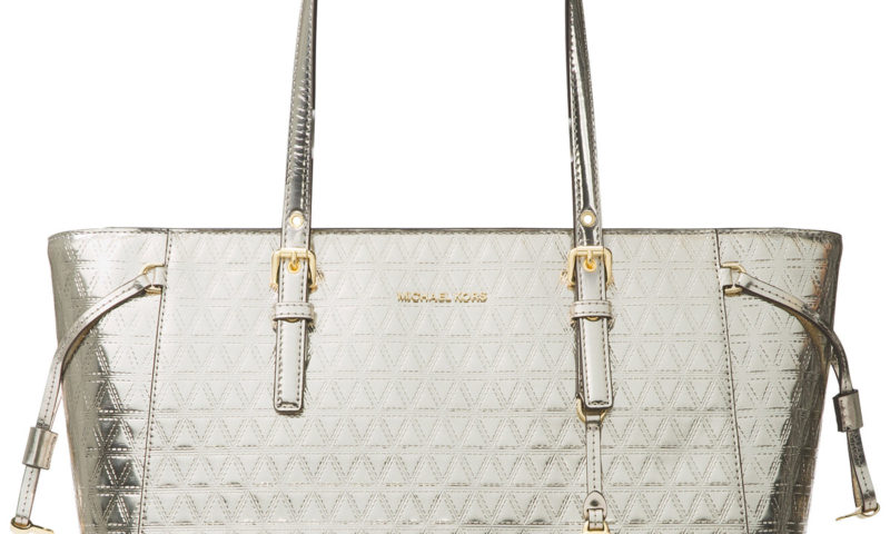Michael Kors Voyager Specchio Multi-Function Top Zip Medium Tote $178 was $298
