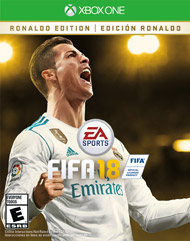 FIFA 18 Ronaldo Edition for $59 from $80