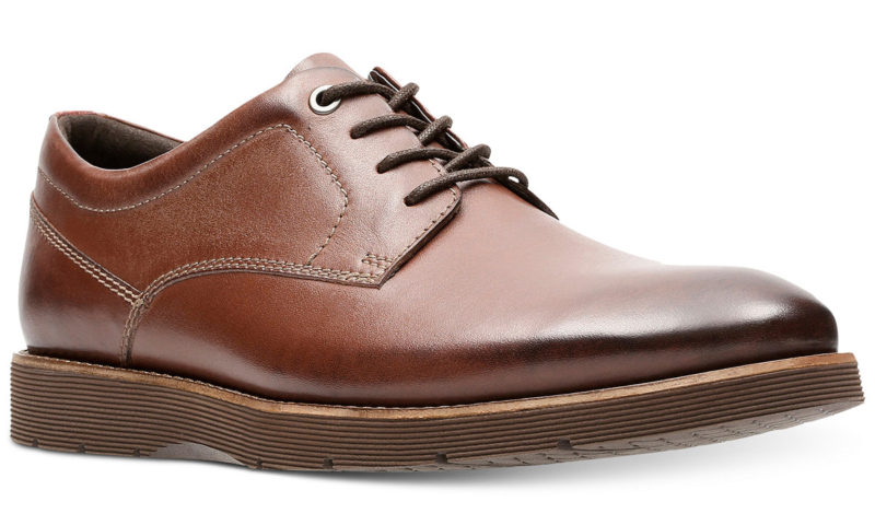 Clarks Men's Folcroft Pain Toe Casual Lace-Up for $75 from $100