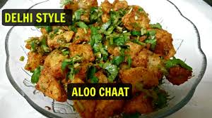 Delhi k fried Aloo chat