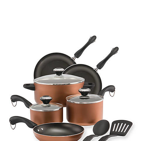 Paula Deen Dishwasher Safe Nonstick 11-Piece Cookware Set $39