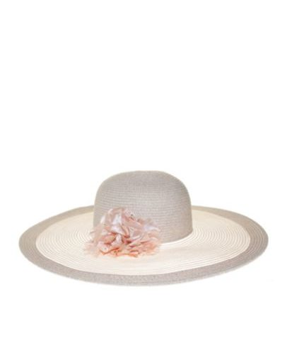 Nine West Sheer Super Floppy Hat with Flower For  Clearance $14.99 Orig. $44.00