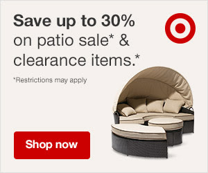 Patio sale & clearance: Up to 30% off at target