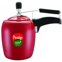 Prestige Apple Aluminum Red Color Pressure Cooker, 5-Liter 50% Off