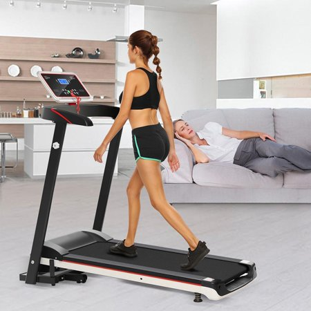 Electric Treadmill Folding Treadmill Folding Electric Treadmill 2.5 H P for $158 – free shipping