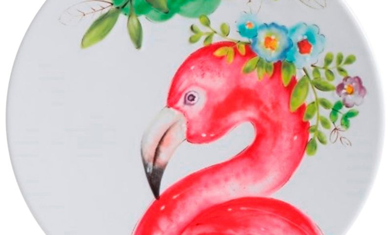 Flamingo Dinner Plate 75% Off