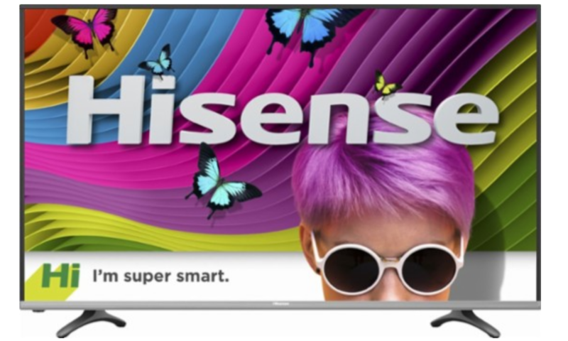 Hisense – 55″ Class – LED – H8 Series – 2160p – Smart – 4K UHD TV $323