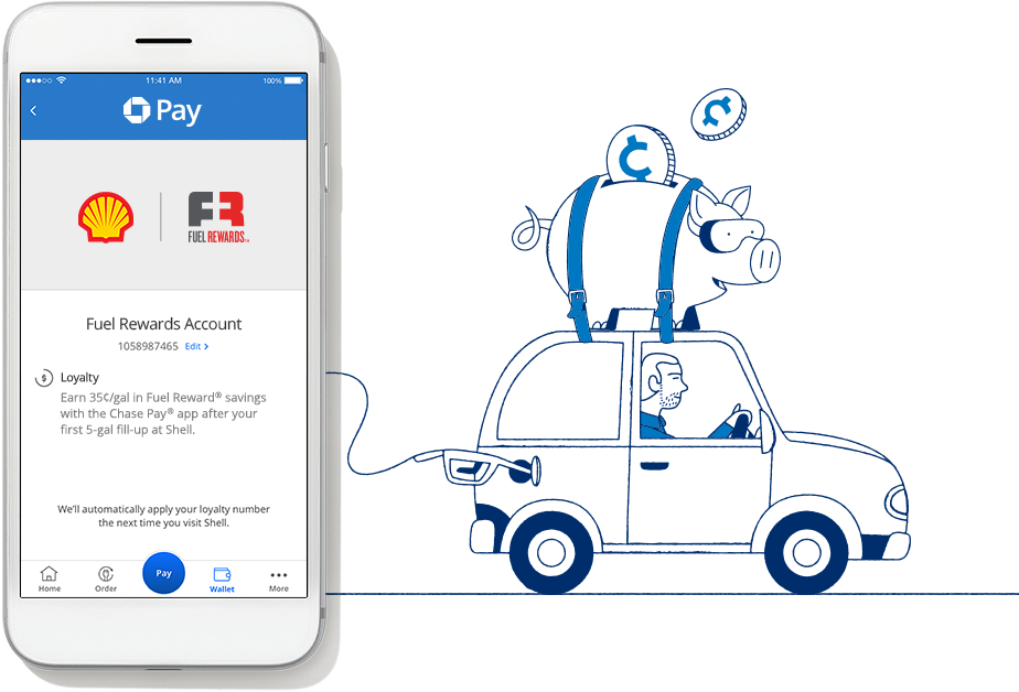 Earn 35¢/gal at Shell with the Chase Pay app - StrikingStuff com