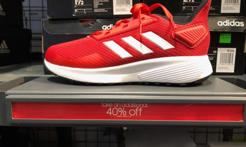 Adidas 40% sale on clearance items