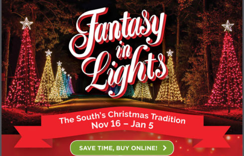 Fantasy In Lights – The South's Christmas Tradition