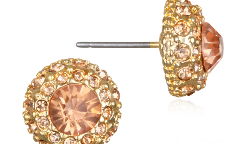 Mixit 11.1mm Stud Earrings for $7 from $14