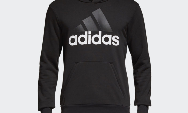 adidas Essentials Linear Pullover Hoodie Men's $26